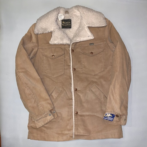 Wrangler Wrange coat ランチコートJL557ST / Corduroy  70-80's Dead stock  #101