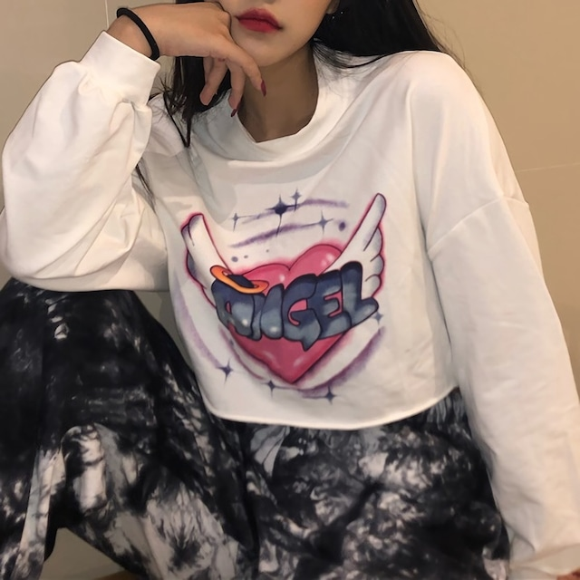ANGELプリントシャツ / HWG100