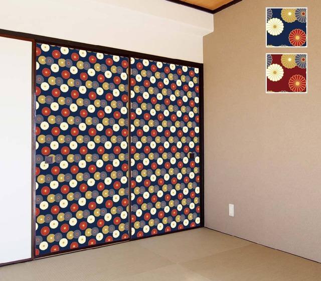 シール壁紙 WA-003 菊