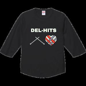 DEL-T 七部袖Mサイズ<ブラック>