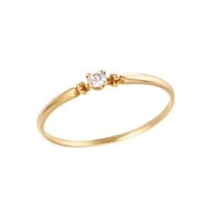 K18YGダイヤモンドリング 010209003893