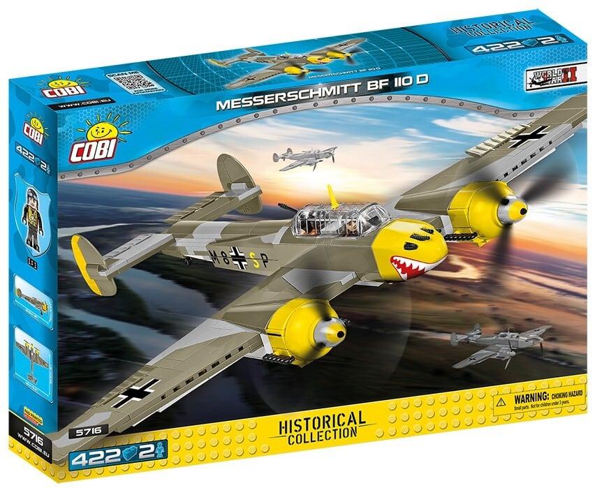 COBI #5716 メッサーシュミット Bf-110D