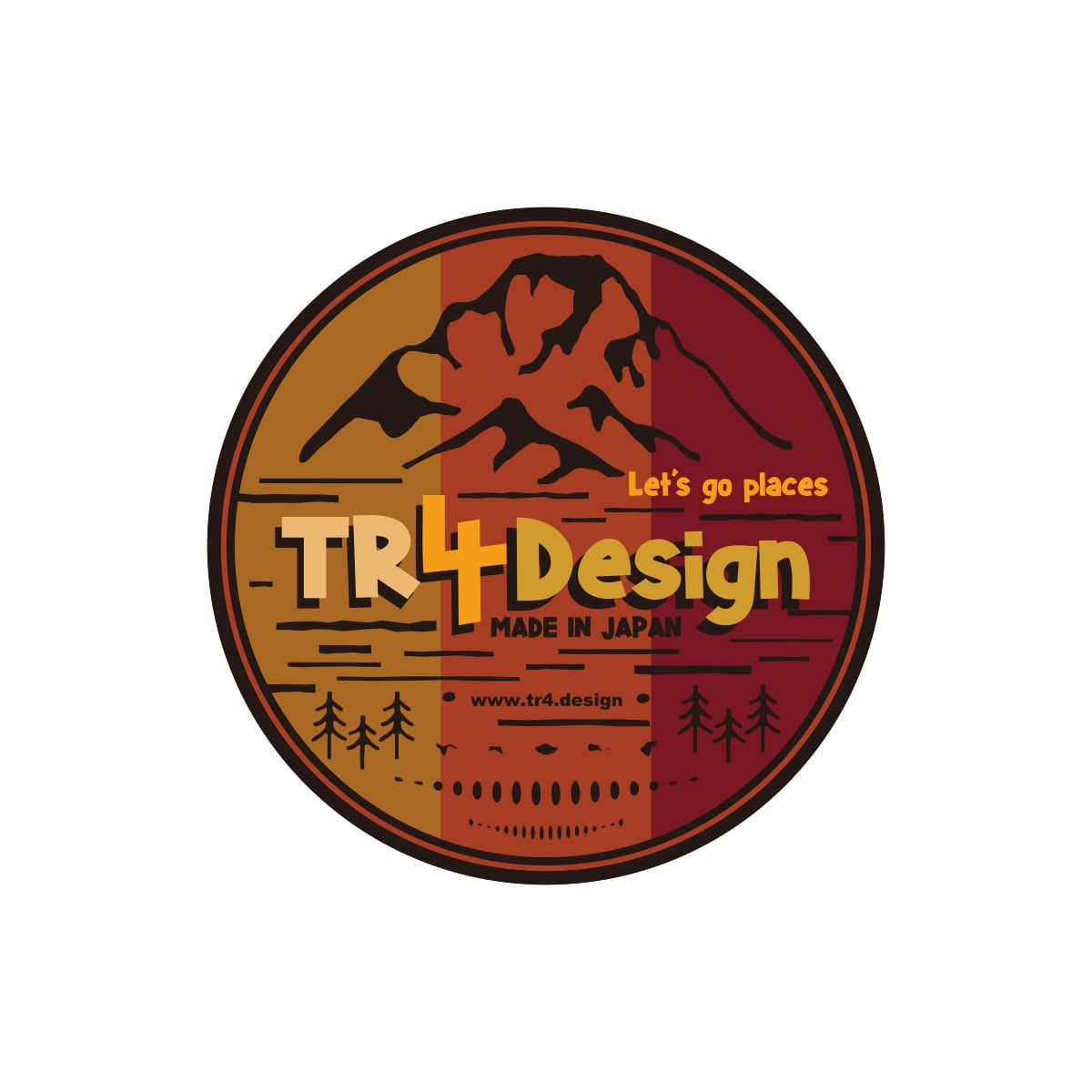 【 TR4Design 】TR4Design Sticker Decal #05