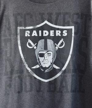 USED NFL SPORTS T-shirt -RAIDERS-