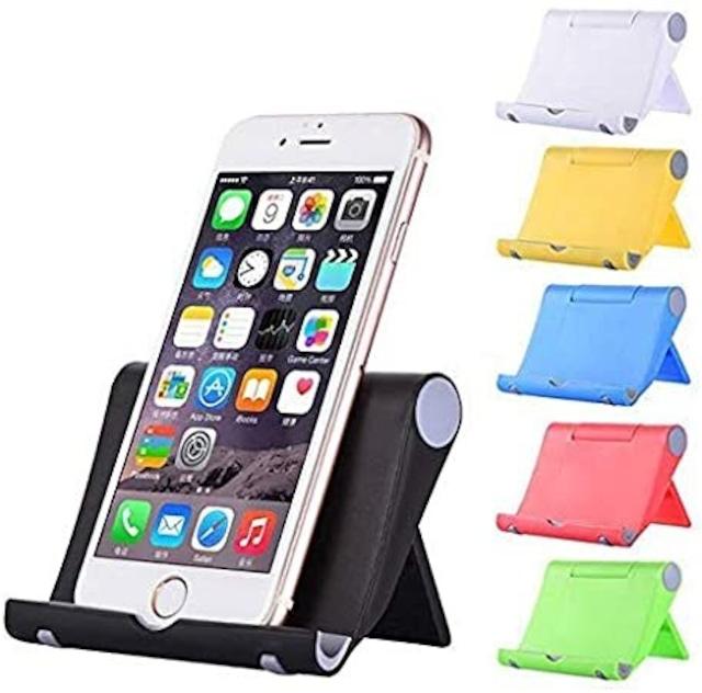 スマホスタンド iPhone Xperia 各種スマートフォン対応 スマホアクセサリー ピンク