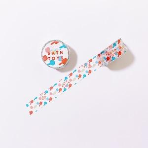 お風呂のおもちゃマスキングテープ 20mm