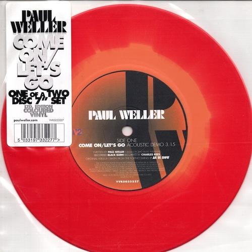 【7inch・欧州盤】Paul Weller /  Come On/Let's Go
