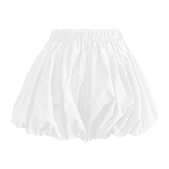 【即納】balloon skirt(White)