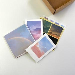 [skyfolio] sky box ステッカー&カードセット  (40枚)
