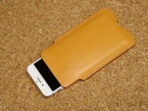 ヌメ革iPhoneケース