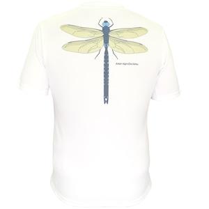 【期間限定2021年8月末まで】P818TSM01 吸水速乾 UV メンズプリントTシャツ (ホワイト)