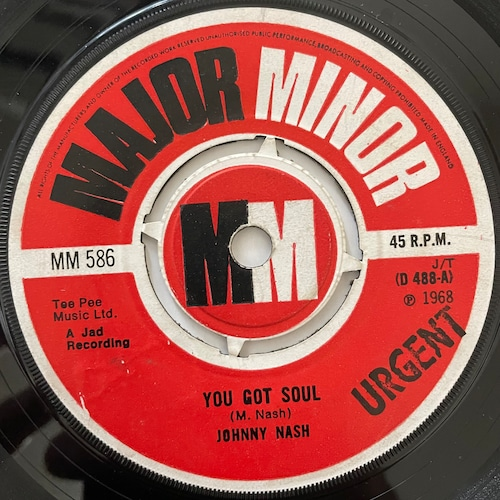 Johnny Nash - You Got Soul【7-20721】