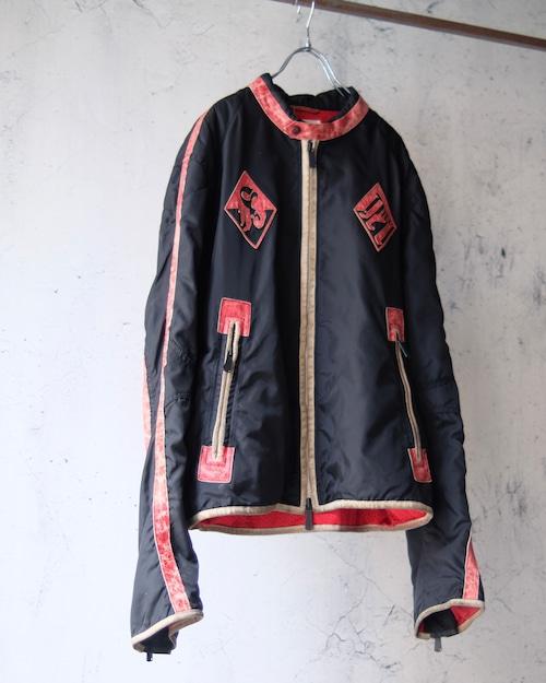 design nylon combi jacket