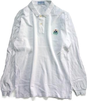 90年代 バーバリー 長袖 ポロシャツ 【XL】 | ヴィンテージ 古着