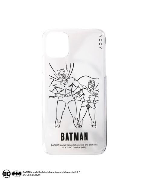 BATMAN / COLORLESS iPhone CASE W-BM021 C