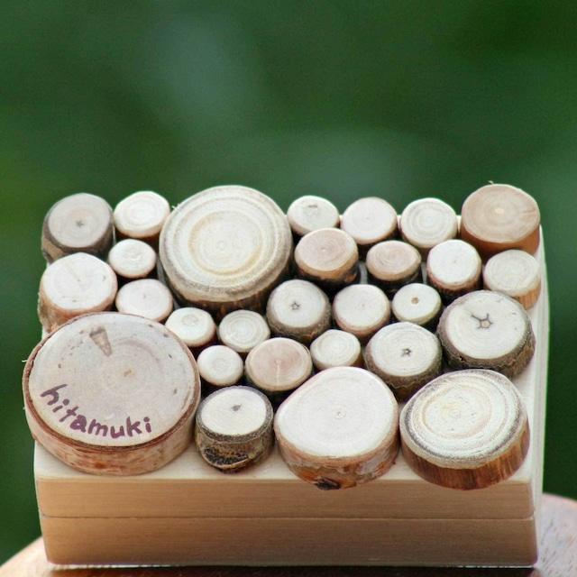 【富良野 森の贈り物】 森の小枝の飾り箱4(小物入れ)