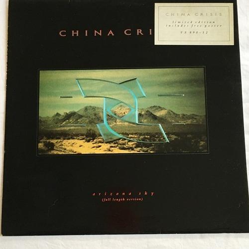 【12inch・米盤】China Crisis / Arizona Sky (Full Length Version)