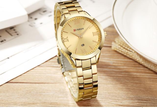 CURREN LT-C9007(gold) レディース腕時計