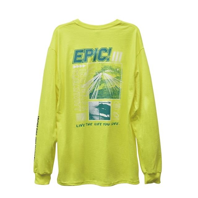 EPIC! Long Sleeve / Lightning yellow