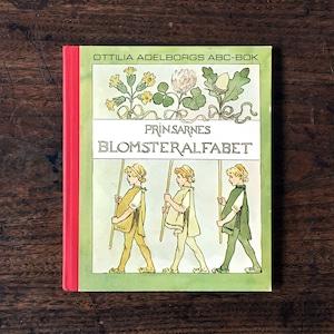 オッティリア・アーデルボリ「Prinsarnes Blomsteralfabet(王子たちの花文字)」《1968-01》