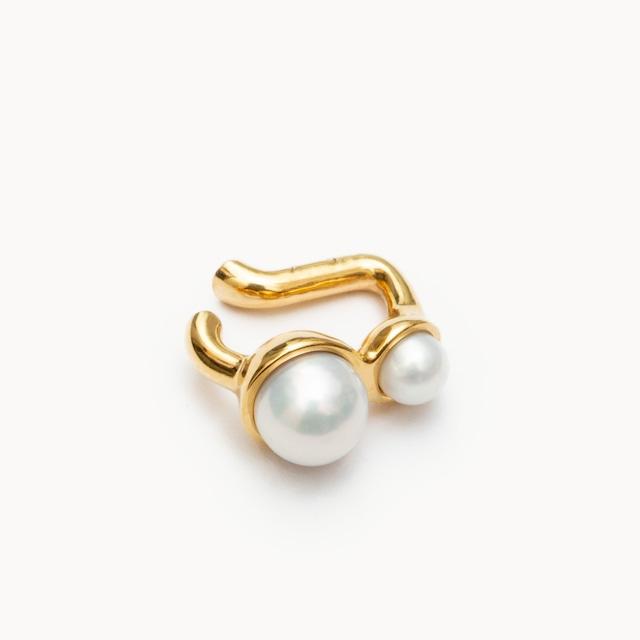 Pearl Ear Cuff S|イヤーカフ  - art.1803C111020