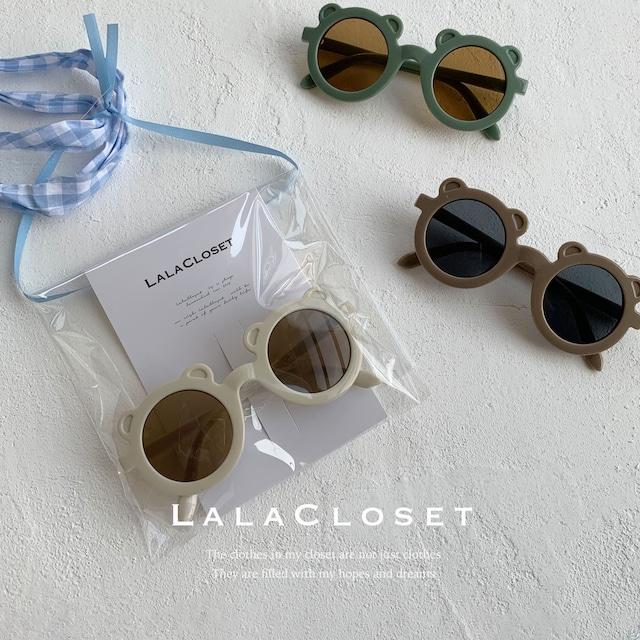 【即納】kuma sunglasses (くまちゃんサングラス) by no. Lala 미니