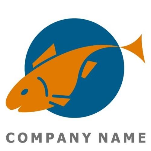 魚イメージ ロゴデザイン