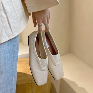 French retro shoes(フレンチレトロシューズ)b-476