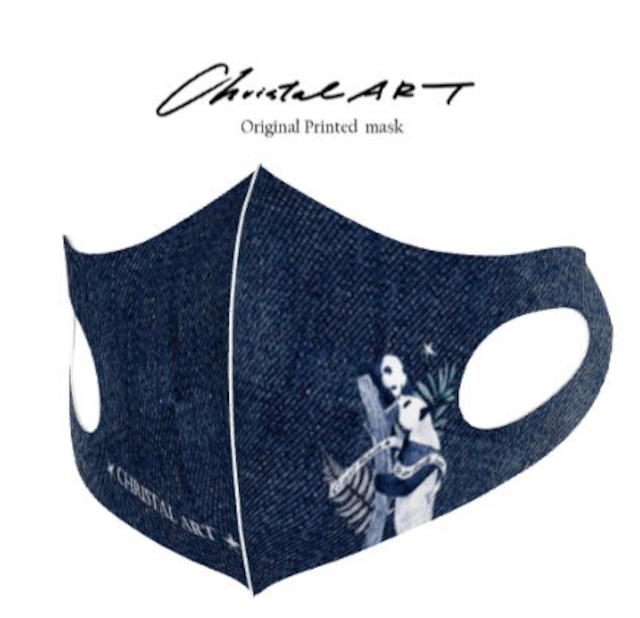 ◆受注生産◆オリジナルプリントマスク◆ラブリーファミリー柄