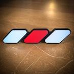 "【 TacoVinyl 】 限定!!  ""JAPAN SCHEME"" Standard Grille Badge"