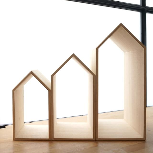 3つのかわいい本の家を建てませんか?本の家 【Book House Nest】