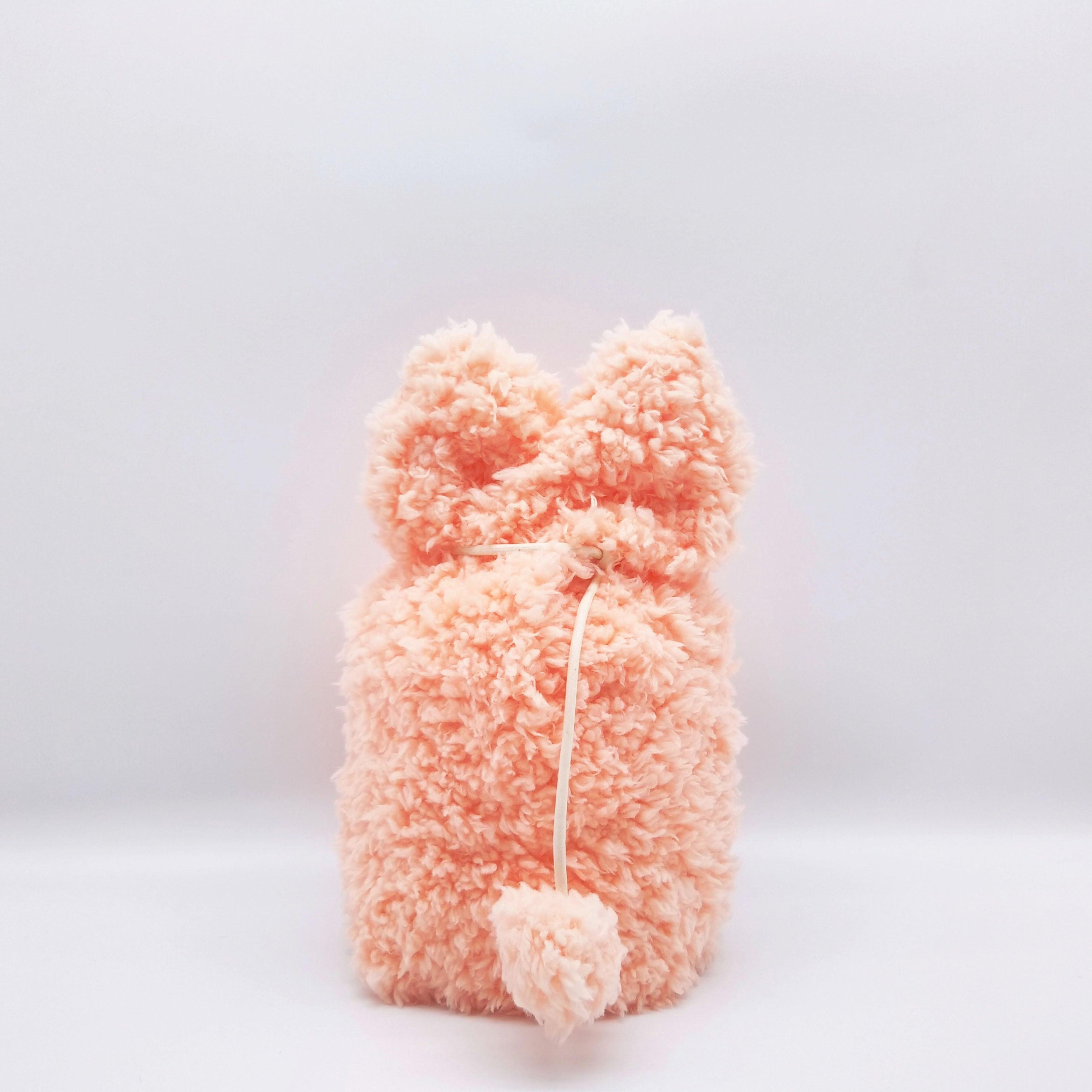 ふわもこカバー【選べる4色】小動物サイズ 2.5寸用