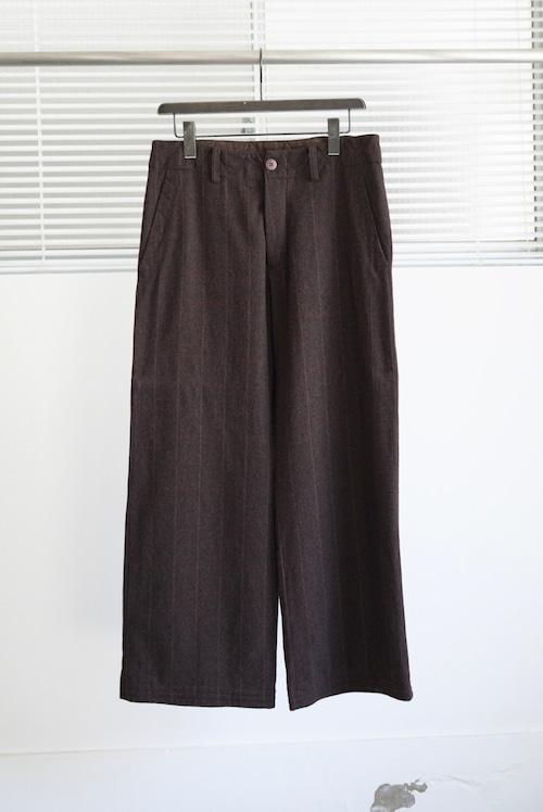 <SOLD OUT>Casey Vidalenc - Windowpane Check Wool Pants