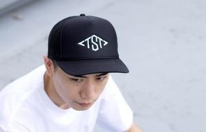 TST MESH CAP #BLACK