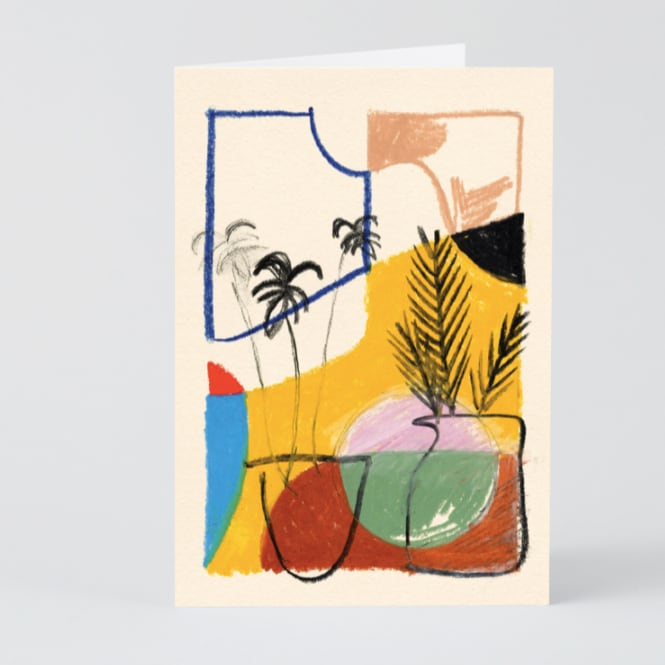 WRAP / Water The Plants ART CARD - Illustrated by B.D. Graft-