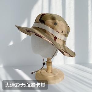 メンズ UVカット帽子 UVハット 紫外線 対策 日よけ帽子 日焼け防止 アウトドア 山登り 海 釣り5623