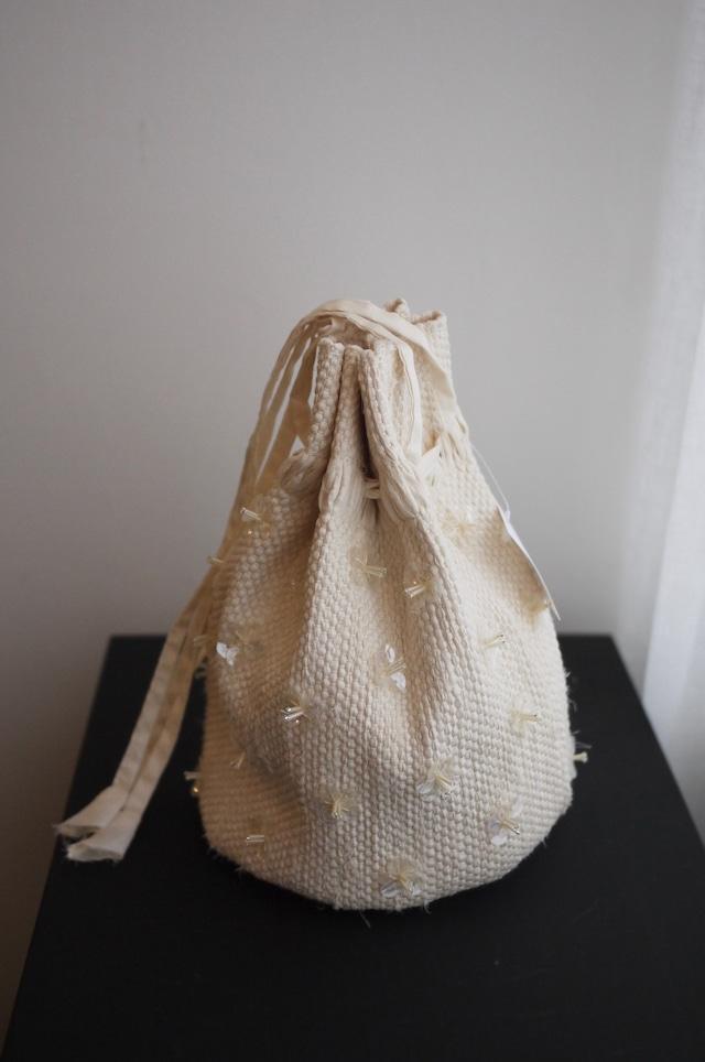 oru | weaving bag ビーズ巾着