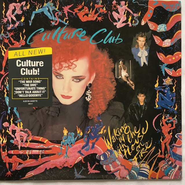 【LP・米盤】Culture Club  /   Waking Up With The House On Fire
