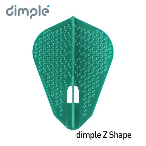 L-Flight PRO dimple L9d [Z Shape] Pacific Green