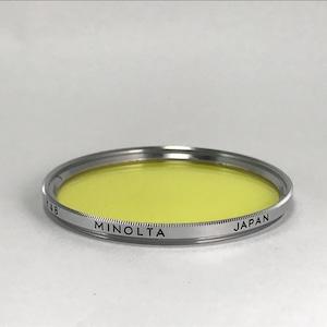 MINOLTA Y48 Filter 55mm