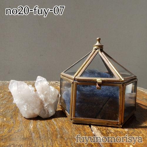 鉱物(テント型ケース中) - サボテン水晶 - フユノモリ社セレクト鉱物 - no20-fuy-07