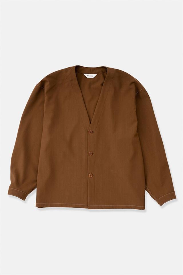 DIGAWEL / Shirt Cardigan(BROWN)