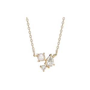 Drops from the Moon Necklace / K18YG