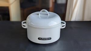 Enamel Cook Pot by Ambrogio Pozzi for GUZZINI