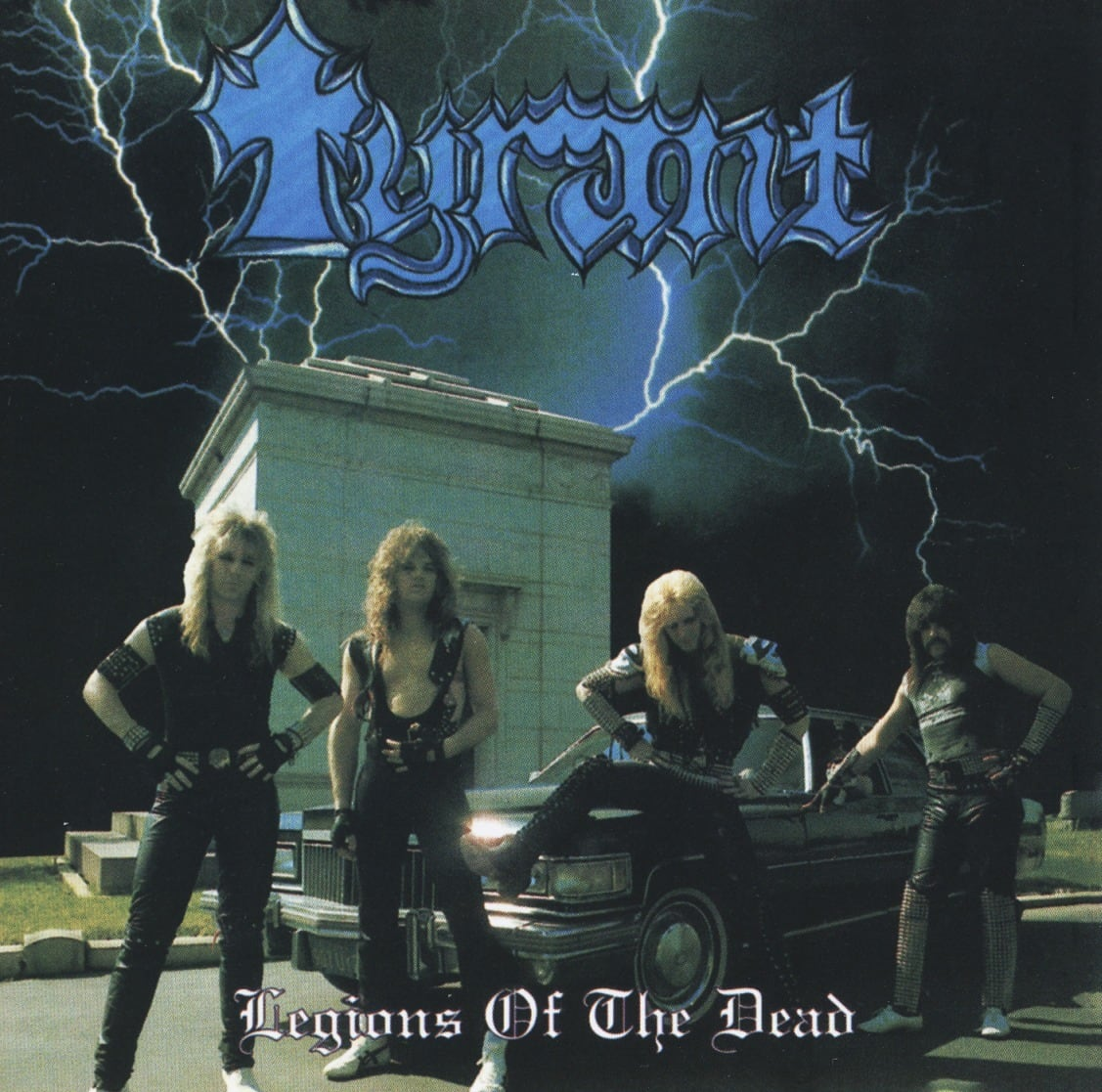 """TYRANT """"Legions Of The Dead"""" (輸入盤)"""
