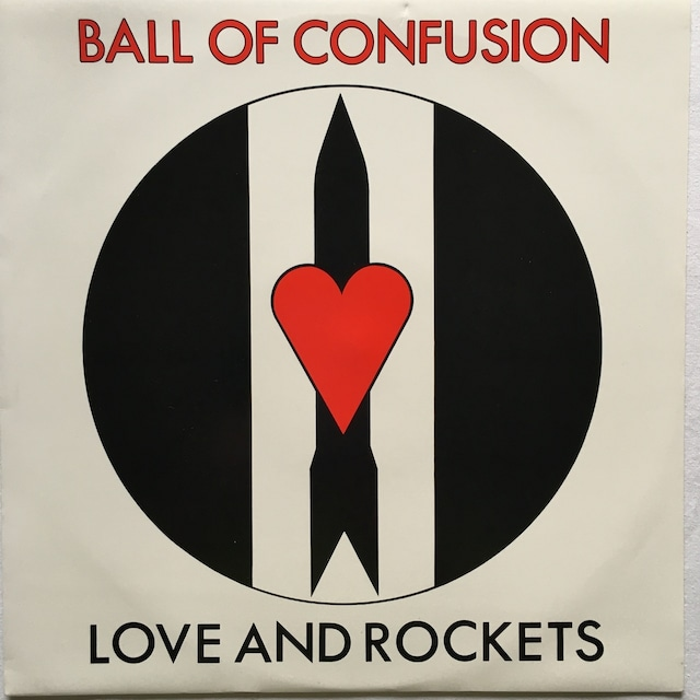 【12inch・英盤】Love and Rockets  / Ball Of Confusion