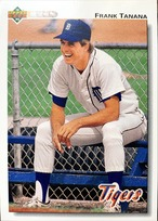 MLBカード 92UPPERDECK Frank Tanana #605 TIGERS