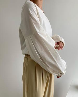 two pattern drop shoulder blouse