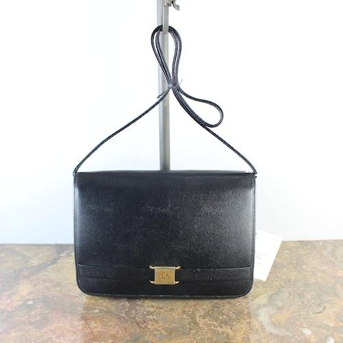 .OLD Christian Dior LOGO LEATHER SHOULDER BAG MADE IN FRANCE/オールドクリスチャンディオールロゴレザーショルダーバッグ2000000056203