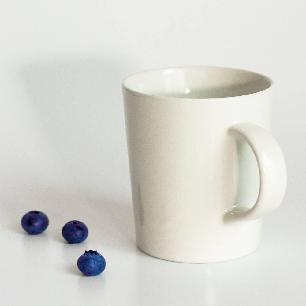 aito製作所 「シエル Ciel」きほんのうつわ マグカップ 260ml ホワイト 美濃焼 520143
